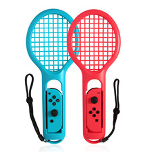 Bevigac Novo Controlador Alça Esquerda Direita ABS Interruptor de Raquete De Tênis para a Nintendo Nintend NS Tênis De ALEGRIA CON Ma rio ACE Jogador Do Jogo