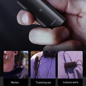 Image 2 - Baseus & Bongiovi Bluetooth מקלט 5.0 תמיכת מיקרופון 3.5mm AUX Bluetooth מתאם aptX DPS 3D סטריאו קול חי אפקט