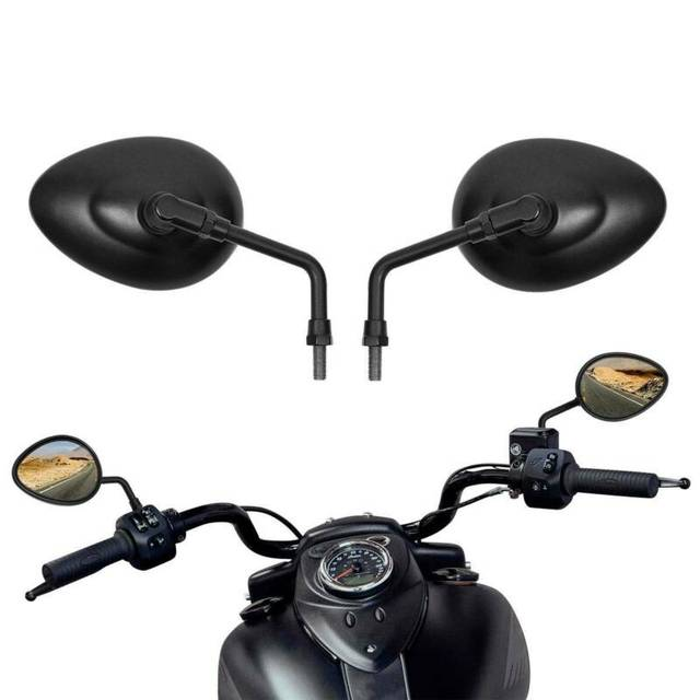 Espejo retrovisor lateral para motocicleta, 10mm, para Jefe Indio, Chieftain Vintage Roadmaster 2014 Up Scout Sixty Springfield Dark Horse