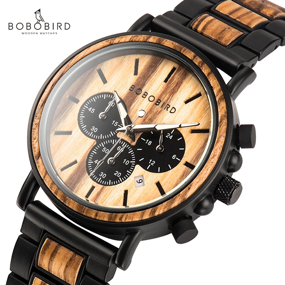 Bobo Bird Male Watch Men's Wat