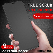 2Pcs/lot Matte Tempered Glass For Xiaomi Redmi note 8 pro NOTE 7 Screen Protector For redmi note8 Anti-blue Light Tempered Glass