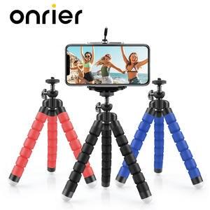 Onrier Octopus Tripod Mobile-Phone Flexible Gopro 8 4k Camera Mini for Sponge Yi 7 6-5