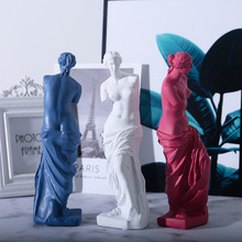 European Home Decoration Resin Statue Modern Abstract Art Mini Goddess Broken Arm Sculpture Art Sketch Model Creativity