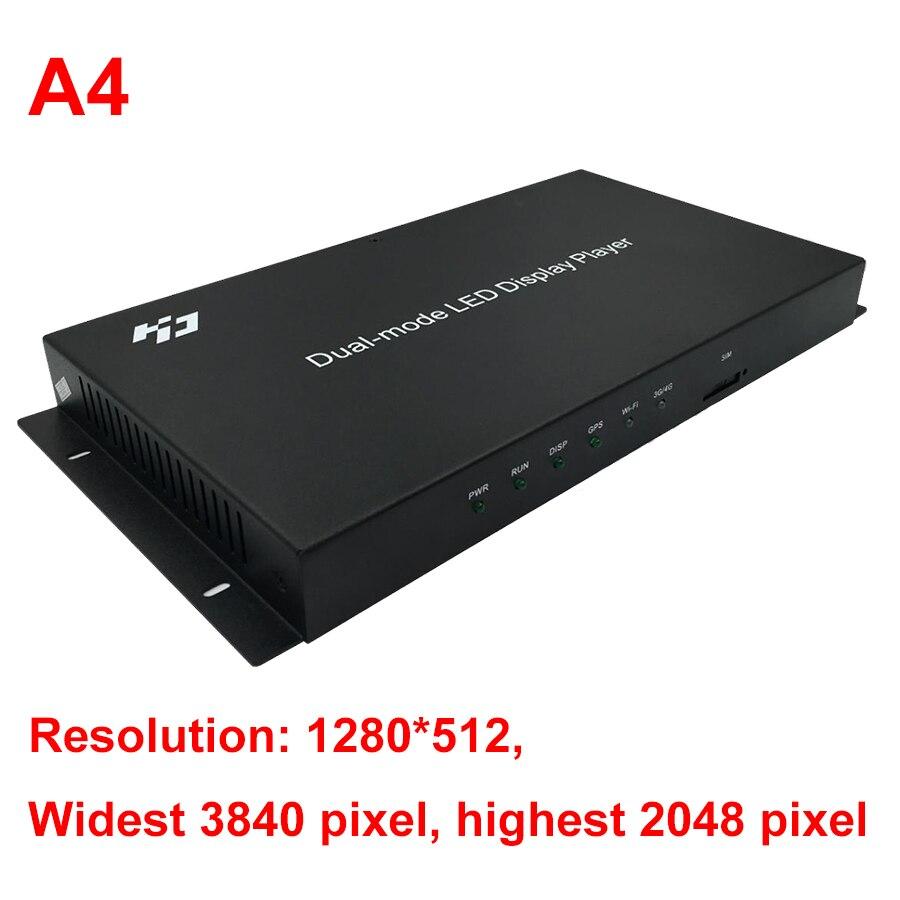 Image 2 - Huidu HD A4 A5 A6 WIFI フルカラー LED 表示モード同期と非同期制御システムLED ディスプレイ   -