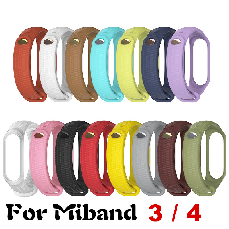 <font><b>Bracelet</b></font> For <font><b>Mi</b></font> <font><b>band</b></font> <font><b>4</b></font> <font><b>band</b></font> <font><b>3</b></font> for Xiomi with texture for <font><b>Mi</b></font> <font><b>band</b></font> <font><b>4</b></font> <font><b>silicone</b></font> Sport <font><b>Wristband</b></font> <font><b>Bracelet</b></font> for Xiomi <font><b>Mi</b></font> <font><b>band</b></font> <font><b>4</b></font> <font><b>Strap</b></font> image