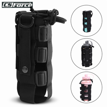 Tactical Adjustable Molle Water Bottle Pouch Holster Carrier Outdoor Military Water Bottle Kettle Bag Camping Hiking Travel Kit camping sports water bag new outdoor tactical military molle system bottle bag kettle pouch holder