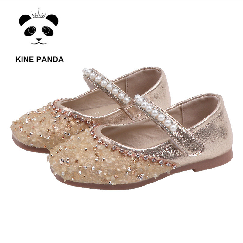 Girl Shoes Patent Leather Flats Shoes Kids Girls Princess Mary Jane Party Dress