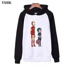 Avengers Rick and Morty Xxxtentacion Hooded Sweatshirts Women Mens Clothes Hoodies  Harajuku Casual Hoodie Kpop Streetwear