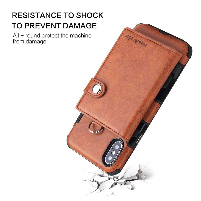 H0d3de337e64f4ab699a94a28c00e9976B Tikitaka Wallet Leather Phone Case For iPhone 6 6s Plus X XS XR Multifunction Card Slots Flip Cover For iPhone XS MAX 8 8 Plus