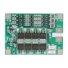 3S 12V 40A Lithium Battery Power Protection Board BMS PCB Board with Balance Charging