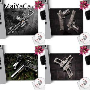 MaiYaCa новый дизайн большой рекламный пистолет компьютерные игровые коврики коврик для мыши Гладкий блокнот для письма настольные компьютер...