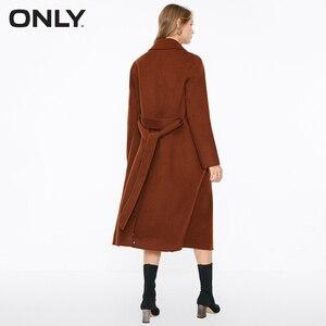 Image 3 - SOLO delle donne di autunno nuovo di lana doppio fronte di lana coat