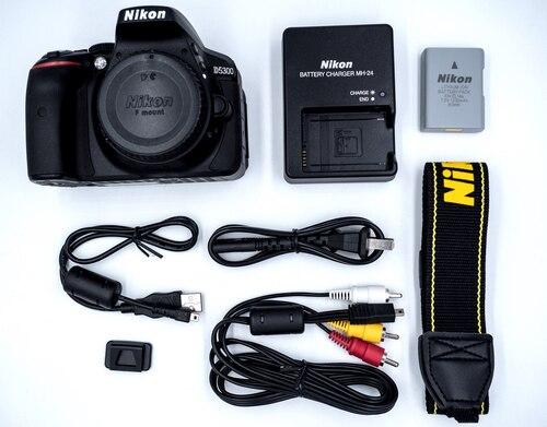 Nikon D5300 DSLR Camera -24.2MP -Video -Vari-Angle LCD  -WiFi  (Brand New) 1