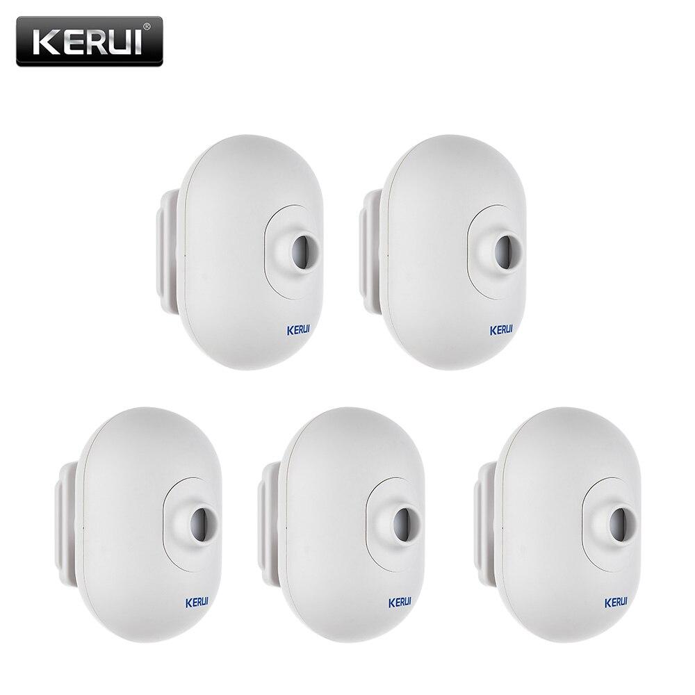 KERUI P861 Outdoor Waterproof PIR Motion Sensor Detector For Wireless Security Alarm System 5P/lot Driveway Garage Burglar Alarm