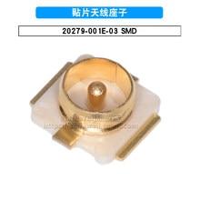 10 pçs/lote 20279-001e-03 conector/IPE-X placa final ipx conector soquete smd