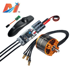 Maytech 10%OFF 5055 70KV mountainboard motor with 1pcs SuperESC based on VESC and remote control for skateboard