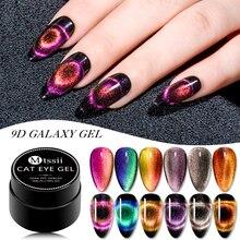 Mtssii 5ml 9D Galaxy Cat Eyes Led Gel Nail Polish Chameleon