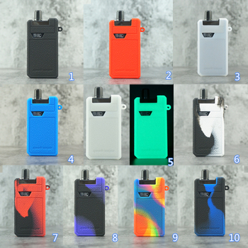 цена на 1pcs Silicone case for GEEKVAPE frenzy pod Mod Vape KIT  texture skin rubber sleeve protective cover fit Geekvape frenzy