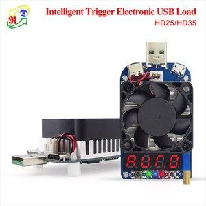 Image 1 - RD HD25 HD35 déclencheur QC2.0 QC3.0 électronique USB résistance de charge décharge batterie test tension de courant réglable 35w