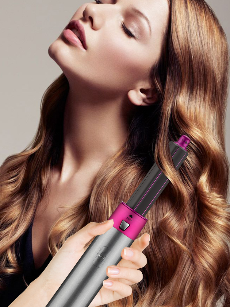 Hairstyling-Tools Blow-Dryer Rotating-Brush Electric-Hair-Dryer Iron Professional 5-In-1