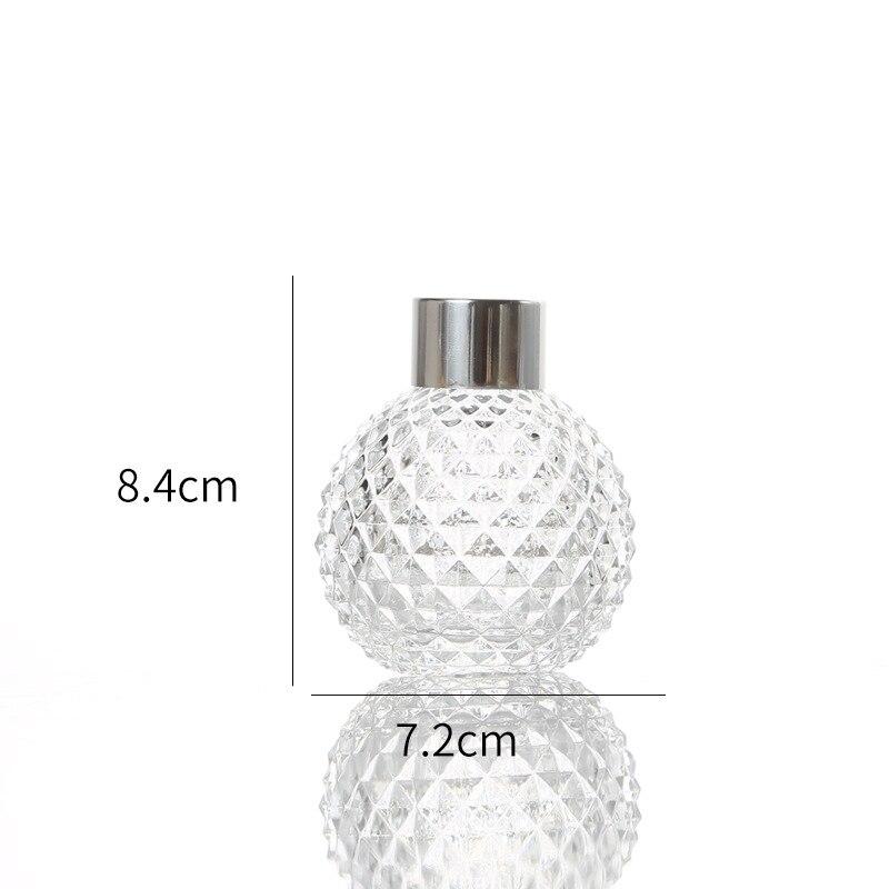 5 шт./компл. 50 мл 150 мл стеклянная бутылка для ароматерапии из ротанга для производства никакого пожара диффузор бутылки аромат для возгонки Стекло контейнер для домашнего декора