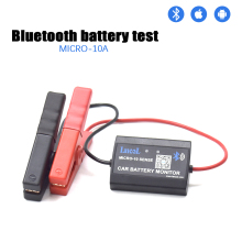 Lancol M 10 Bluetooth 4.0 12V Car Battery Monitor Tester Diagnostic Tool For Android IOS Digital Analyzer Battery Health
