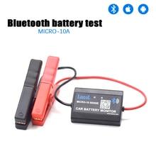 Lancol M 10 Bluetooth 4.0 12V akumulator samochodowy Tester narzędzie diagnostyczne dla Android IOS analizator cyfrowy stanu baterii