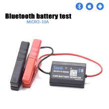 Lancol M 10 Bluetooth 4.0 12V araç aküsü monitörü test teşhis aracı Android IOS dijital analizörü pil sağlık