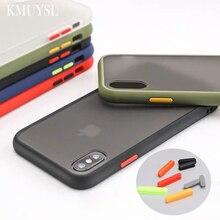 Matte Transparent Case For Xiaomi Mi 8 9 Lite 9t pro cc9 A3