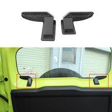 שמשה אחורית חימום חוט כבל קישוט כיסוי Trim מדבקה עבור סוזוקי Jimny 2019 2020 2021 JB74 JB64 אביזרי רכב ABS