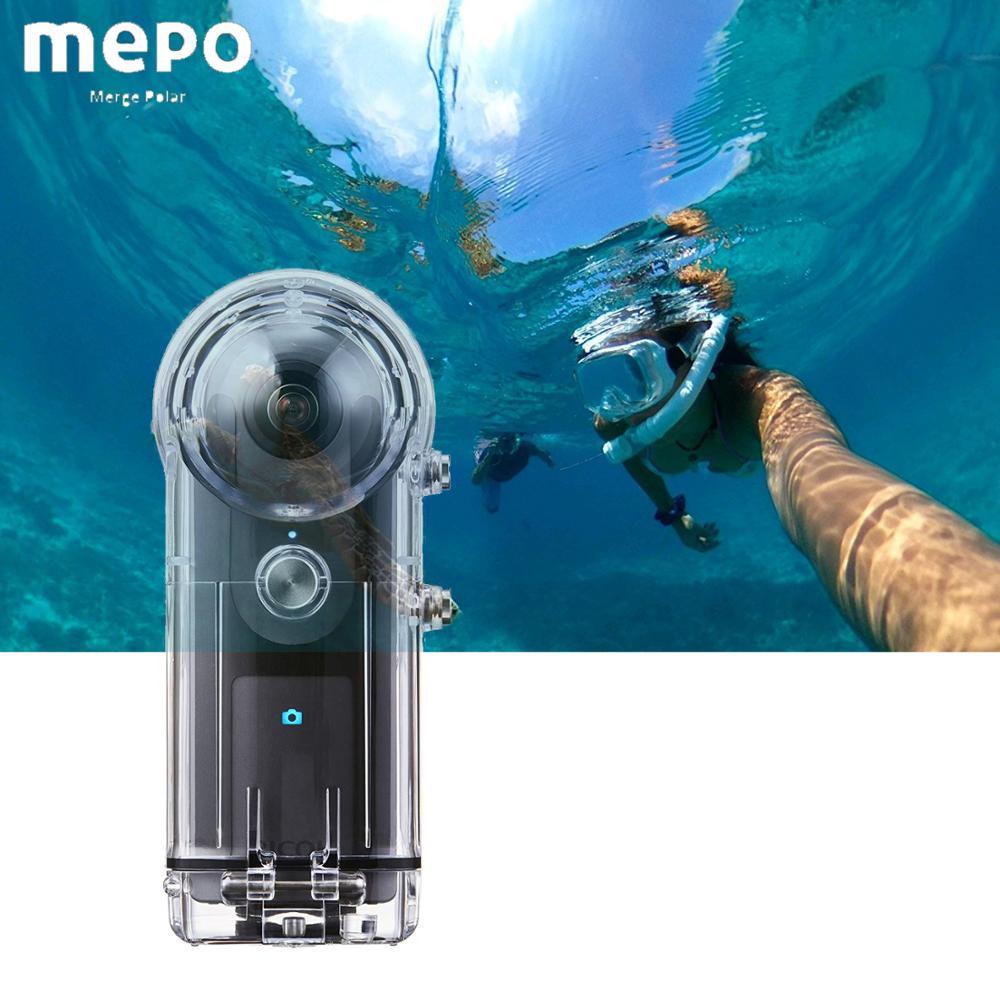 40M boîtier étanche coque pour RICOH Theta SC Theta V Theta S 360 degrés caméra plongée étui de protection RICOH Cam accessoires