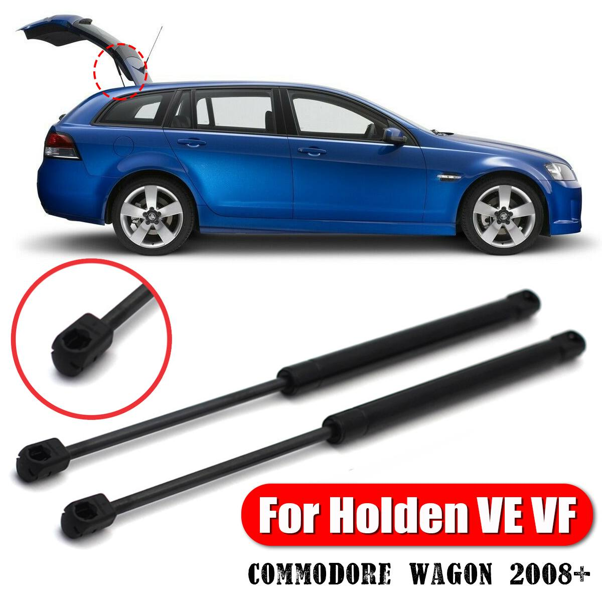 2Pcs Apoio Elevador de Gás Bagageira Bota Struts bar Traseira Do Carro Para Holden VE Commodore VF Wagon 2008 +