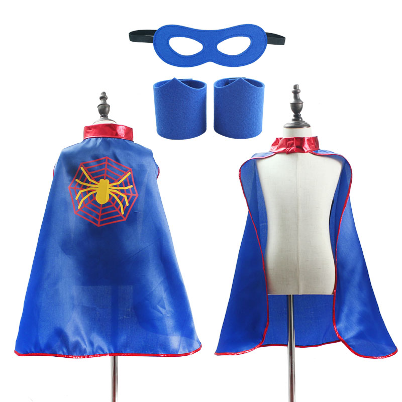 Superhero Capes for Boys Girls Birthday Party Favor Dress Up Halloween Costumes Anime Cosplay 3