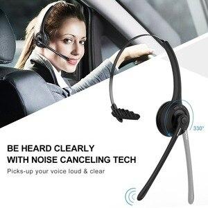Image 2 - MPOW נייד אלחוטי Bluetooth 5.0 אוזניות ידיים אוזניות שחורות אוזניות עם מיקרופון עבור עסקים טלפון/מחשב נייד