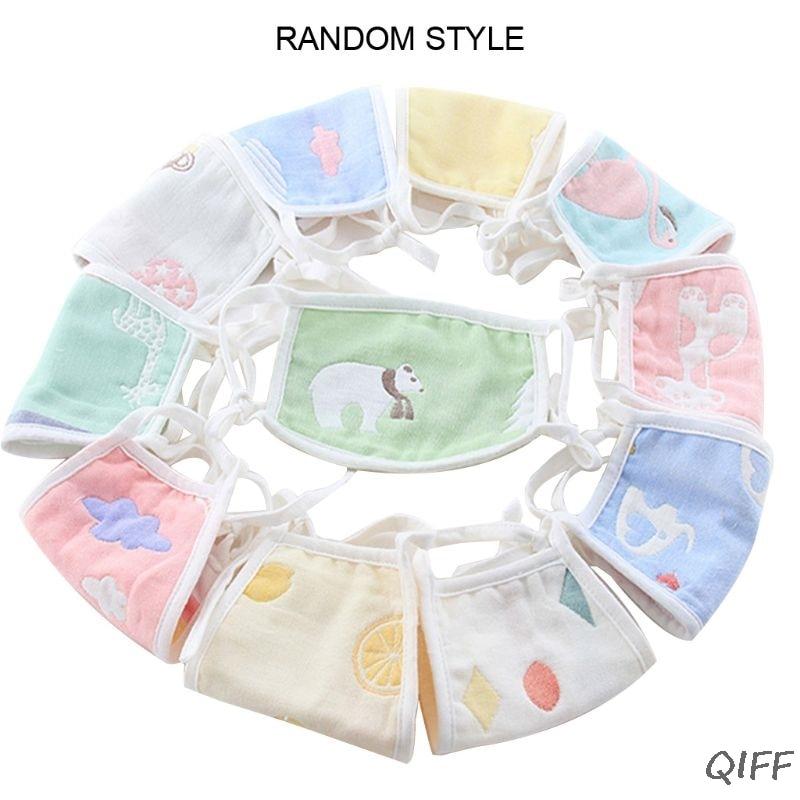 Cute Cartoon Reusable Children's Cotton Mask For Boys Girls