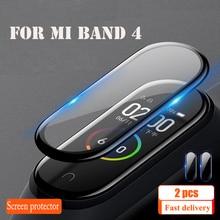 Защитная пленка для XiaoMi Band 4 NFC браслет пленка для экрана Mi Band 4 стекло Взрывозащищенная/защита экрана от царапин
