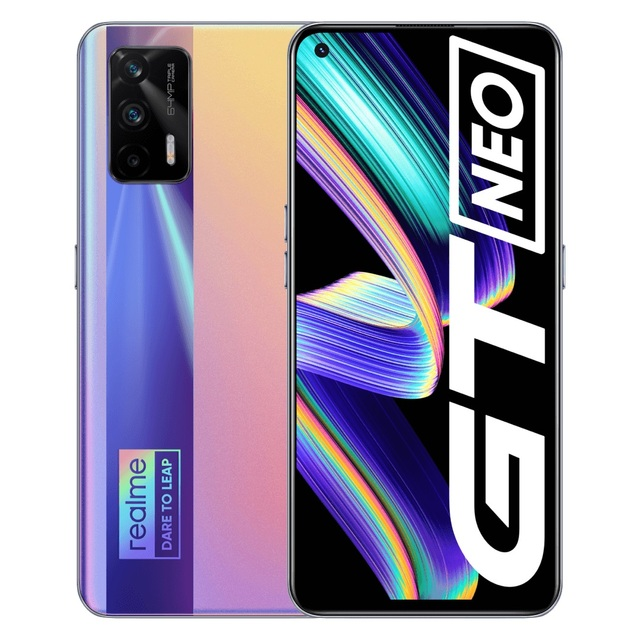 """realme GT Neo Flash version  5G Mobile Phone Dimensity 1200 Octa Core 6.43""""120Hz Super AMOLED 50W Fast Charge 64MP WIFI6 NFC 2"""
