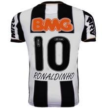 2013 ronaldinho классические мужские рубашки с коротким рукавом
