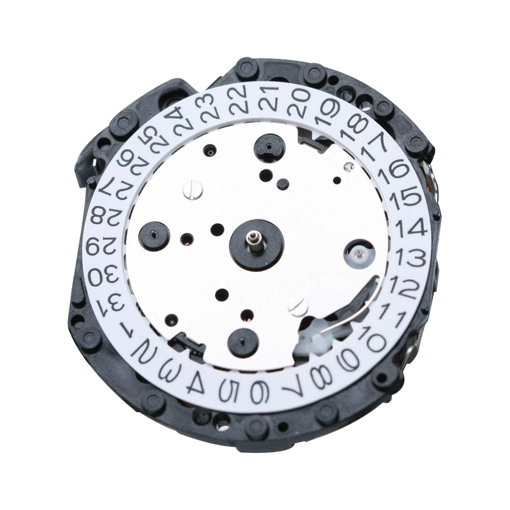 Remplacement Durable de chronographe de mouvement de montre en cristal de Quartz pour des pièces de rechange de réparation de la série VD53C VD53 du japon VD