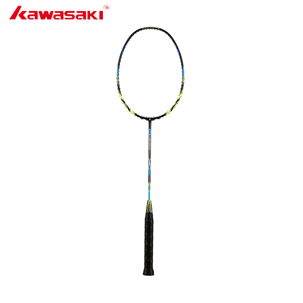 Kawasaki Professional Super Tension 666 Ad Badminton Racket 3U Offensive Type High Graphite Badminton Racquet For Training