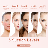 Liberex Blackhead Pimple Removal Against Black Dots Nose Cleaner Pore Acne Beauty Instrument Clean Skin Care Tools For Face 6