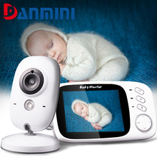 DANMINI Audio Video Baby Monitor 3.2 Inch Wireless Portable Baby Walkie Vision Surveillance Talkie sitter Security Camera VB603