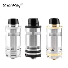 Shenray Top-Quality Taifun GT4 RTA Atomizer with Pei Tube Accessory Electronic Cigarette 25mm TF4 GT IV 4 Mech Tank for Vape Mod