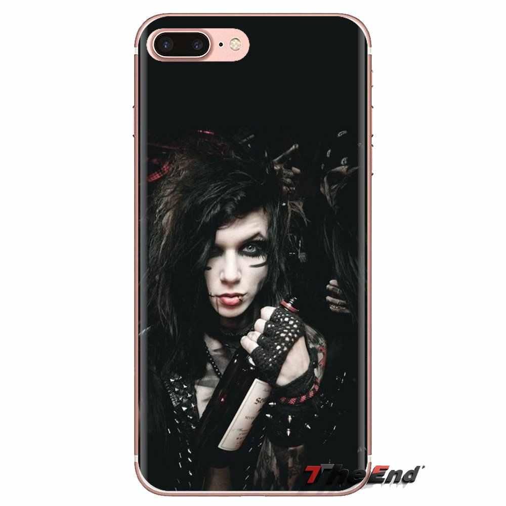TPU מקרה מכסה שחור צעיף כלות אנדי שש עבור iPhone XS Max XR X 4 4S 5 5S 5C SE 6 6S 7 8 בתוספת Samsung Galaxy J1 J3 J5 J7 A3 A5