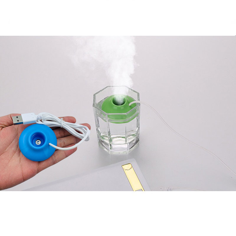Best Selling UFO USB Mini Portable UFO Spacecraft Humidifier Air Purifier Aroma Diffuser Home Office Car
