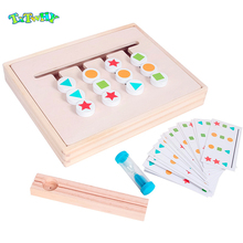 Montessori Early Educational Math Color Matching Baby Training Teaching Aids Toys Preschool Learning