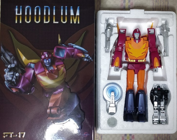 FansToys FT-17 Hoodlum G1 Hot Rod Transformers  Action figure toy New instock