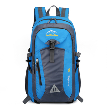 40L Unisex Waterproof Backpack Outdoor Moutaineering Climbing  Camping Hiking backpack Travel Bags For Men Women Sports Bags facecozy camping hiking outdoor waterproof backpack men