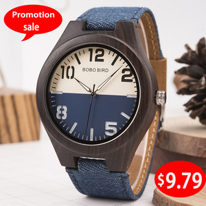 BOBO BIRD Promotion Wood Watch