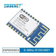 Wifi 2.4GHz ESP8266 Wireless WiFi rf Module 100m Transceiver CDSENET E103-W01 SMD ESP 8266 Module Transmitter and Receiver цена и фото